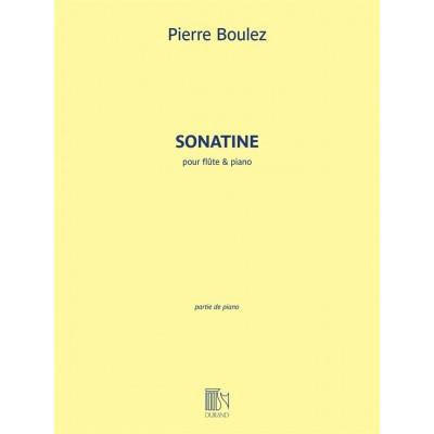 DURAND BOULEZ PIERRE - SONATINE - FLUTE & PIANO
