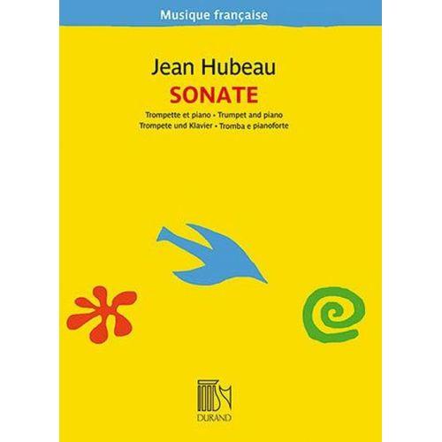 DURAND HUBEAU JEAN - SONATE - TROMPETTE ET PIANO