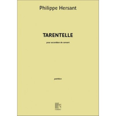 DURAND HERSANT PHILIPPE - TARENTELLE - ACCORDEON