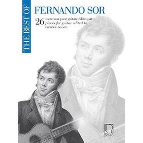 EDITION MAX ESCHIG THE BEST OF FERNANDO SOR - GUITARE