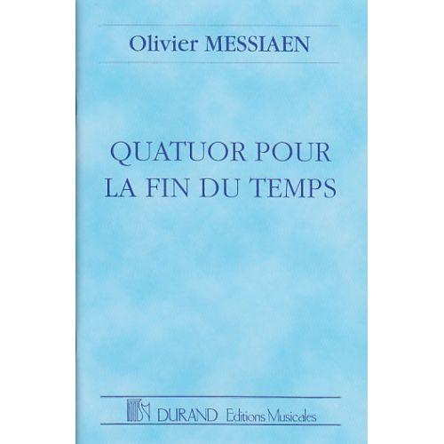 DURAND MESSIAEN OLIVIER - QUATUOR POUR LA FIN DU TEMPS - CONDUCTEUR