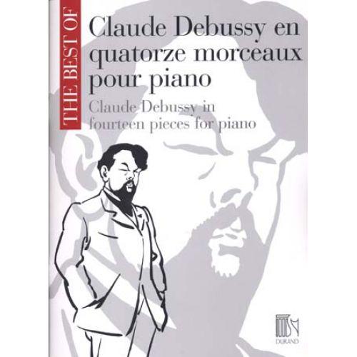 DURAND CLAUDE DEBUSSY EN QUATORZE MORCEAUX POUR PIANO