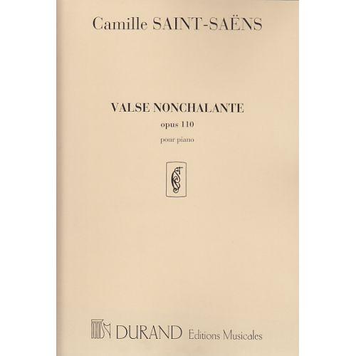 DURAND SAINT-SAENS C. - VALSE NONCHALANTE OP. 110 - PIANO
