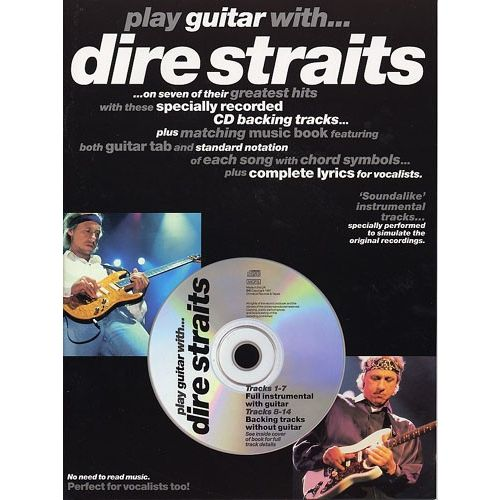 WISE PUBLICATIONS PLAY GUITAR WITH... DIRE STRAITS +CD