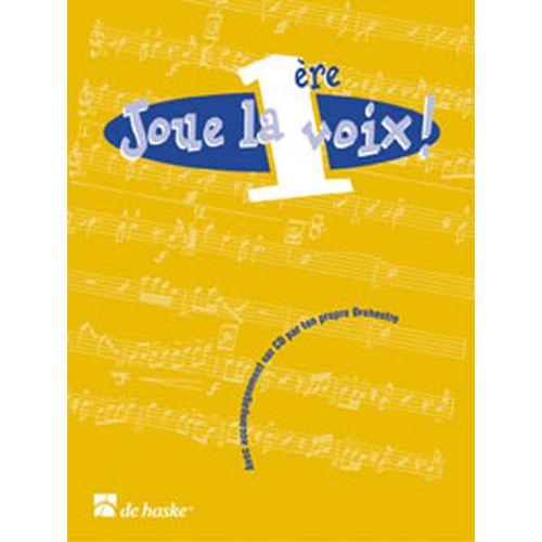 DEHASKE JOUE LA 1ERE VOIX - FLUTE TRAVERSIERE + CD