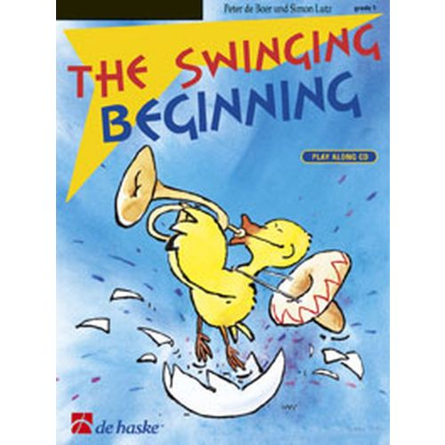 DEHASKE THE SWINGING BEGINNIG + CD - SAXOPHONE