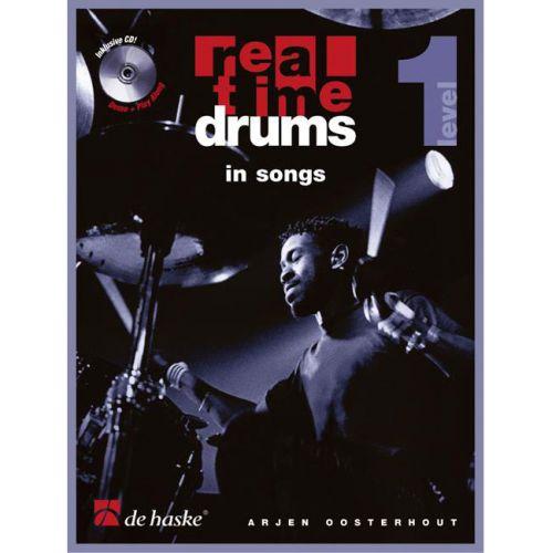 DEHASKE OOSTERHOUT - REAL TIME DRUMS IN SONGS + CD
