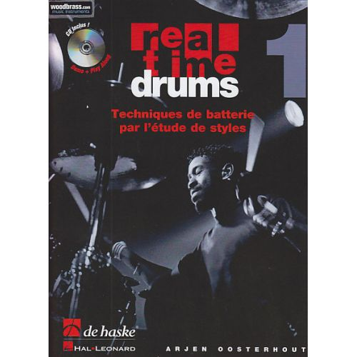DEHASKE OOSTERHOUT - REAL TIME DRUMS VOL.1 + CD