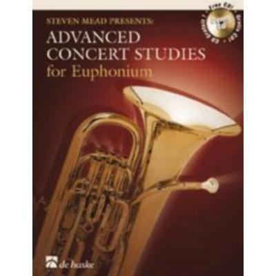 DEHASKE STEVEN MEAD PRESENTS: ADVANCED CONCERT STUDIES - EUPHONIUM T.C. + CD