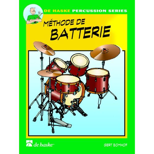 DEHASKE BOMHOF GERT - METHODE DE BATTERIE VOL.1 + CD