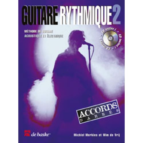 DEHASKE MERKIES MICHIEL - GUITARE RYTHMIQUE VOL.2 + CD