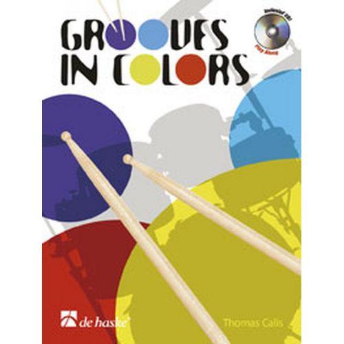 DEHASKE CALIS THOMAS - GROOVES IN COLORS + 2CD - BATTERIE