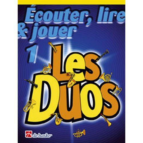 DEHASKE ECOUTER, LIRE ET JOUER - LES DUOS VOL.1 - HAUTBOIS