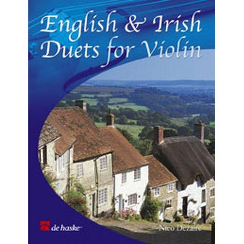 DEHASKE DEZAIRE NICO - ENGLISH AND IRISH DUETS - 2 VIOLONS