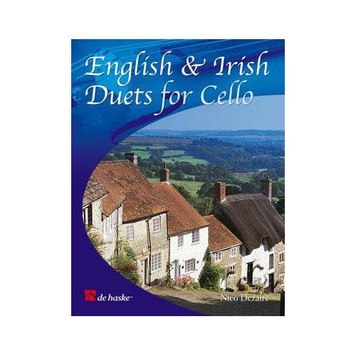 DEHASKE DEZAIRE NICO - ENGLISH AND IRISH DUETS - 2 VIOLONCELLES