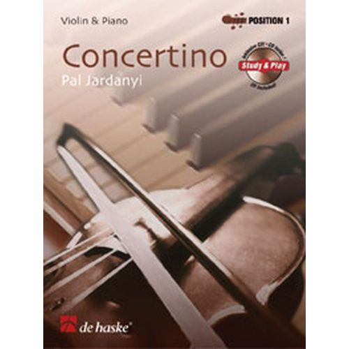 DEHASKE JARDANYI PAL - CONCERTINO FOR VIOLIN + CD