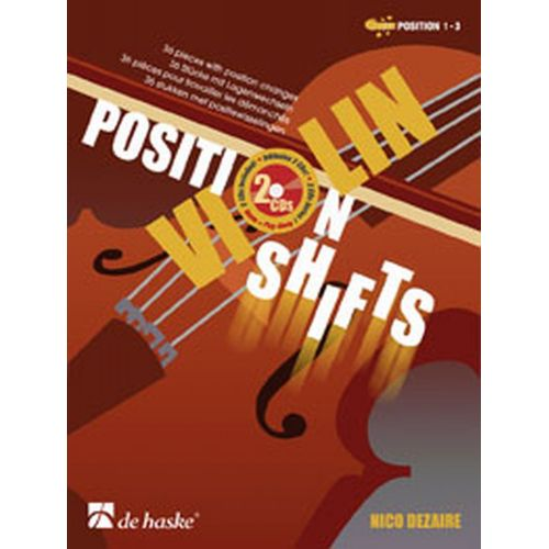 DEHASKE DEZAIRE N. - VIOLIN POSITION SHIFTS