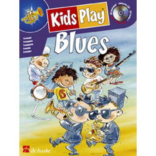 DEHASKE KASTELEIN, DE JONG - KIDS PLAY BLUES - SAXOPHONE ALTO + CD