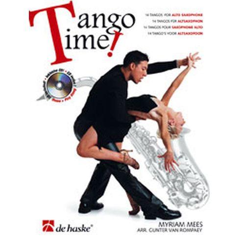 DEHASKE TANGO TIME - SAXOPHONE ALTO