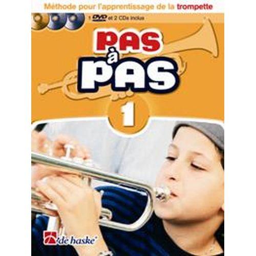 DEHASKE PAS A PAS TROMPETTE VOL.1 + 2 CD ET DVD