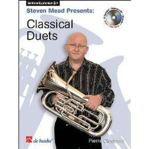 DEHASKE CLODOMIR P. - CLASSICAL DUETS + CD - EUPHONIUM