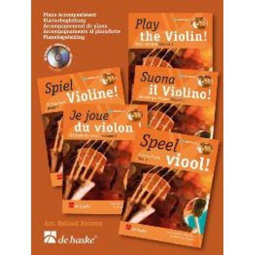 DEHASKE JE JOUE DU VIOLON VOL. 2 - ACCOMPAGNEMENT DE PIANO