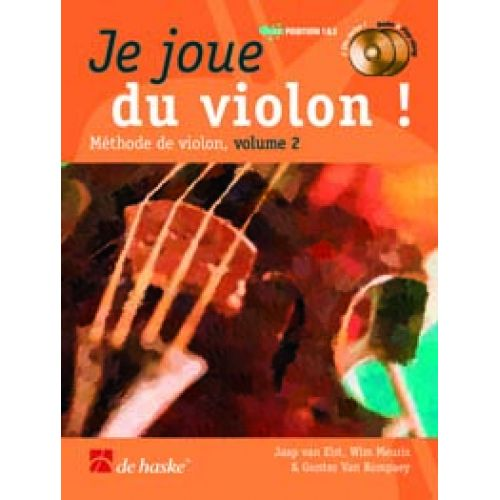 DEHASKE JE JOUE DU VIOLON VOL.2 + 2 CD