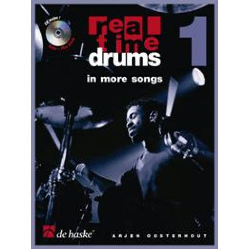 DEHASKE REAL TIME DRUMS IN MORE SONGS + CD