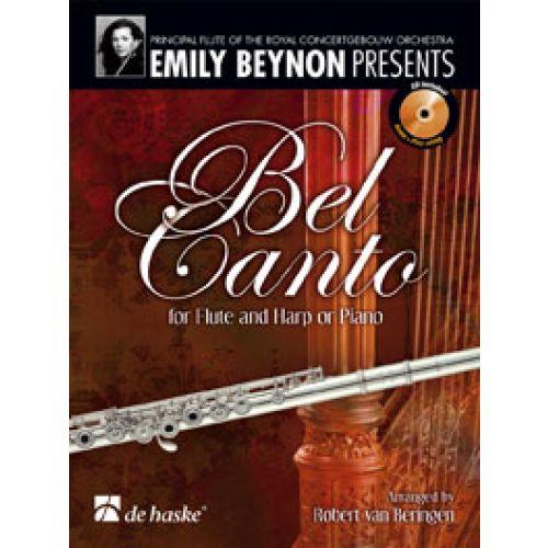 DEHASKE BEL CANTO + CD - FLUTE, HARPE OU PIANO