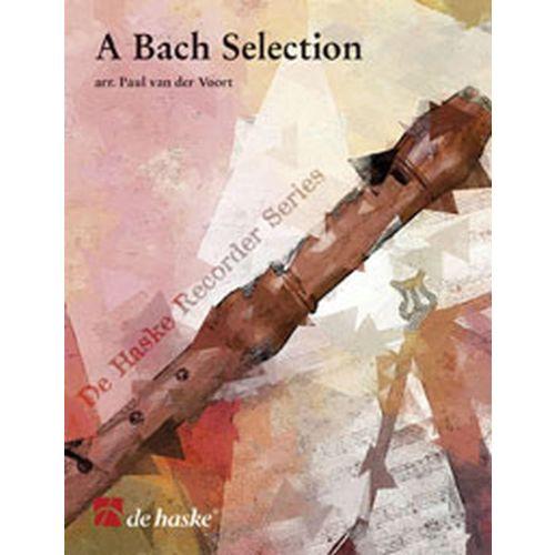 DEHASKE BACH J.S. - A BACH SELECTION - RECORDER QUARTET SATB