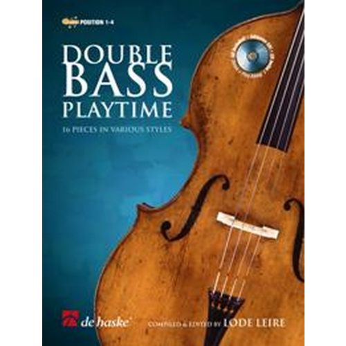 DEHASKE DOUBLE BASS PLAYTIME + CD