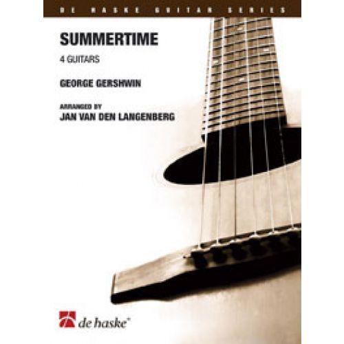 DEHASKE GERSHWIN GEORGE - SUMMERTIME - QUATUOR GUITARES