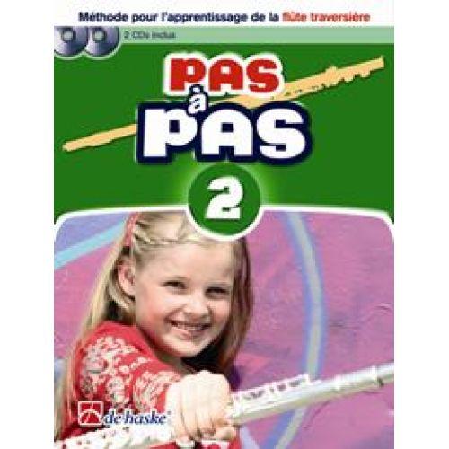 DEHASKE PAS A PAS FLUTE TRAVERSIÈRE VOL.2 + CD
