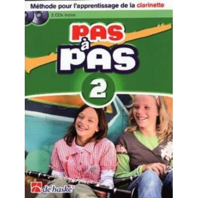 DEHASKE PAS A PAS CLARINETTE VOL.2 + CD