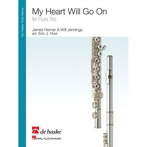 DEHASKE JENNINGS W. - MY HEART WILL GO ON - 3 FLUTES