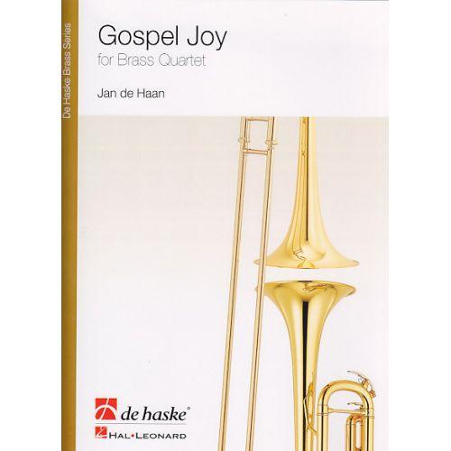 DEHASKE DE HAAN J. - GOSPEL JOY - ENSEMBLE DE CUIVRES