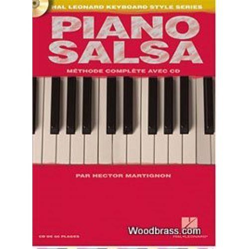 HAL LEONARD MARTIGNON HECTOR - PIANO SALSA + CD - EDITION FRANCAISE