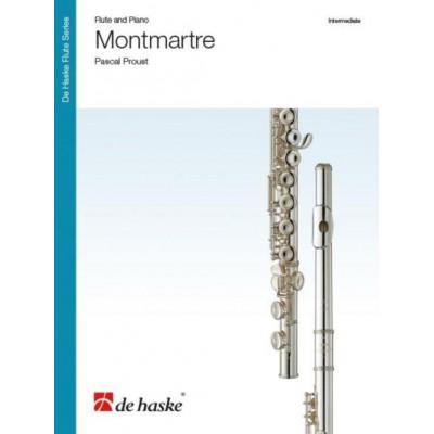 DEHASKE PROUST PASCAL - MONTMARTRE - FLUTE & PIANO