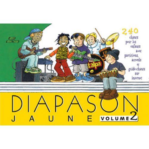PRESSES D'ILE DE FRANCE DIAPASON JAUNE VOL 2