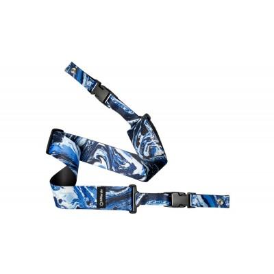 DIMARZIO STRAP STEVE VAI CLIPLOCK - BLUE UNIVERSE - 5CM