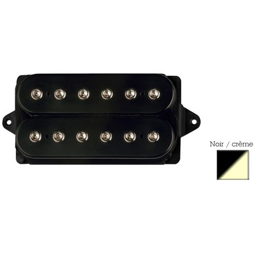 DIMARZIO DP100-BC SUPER DISTORTION HUMBUCKER BLACK/CREAM