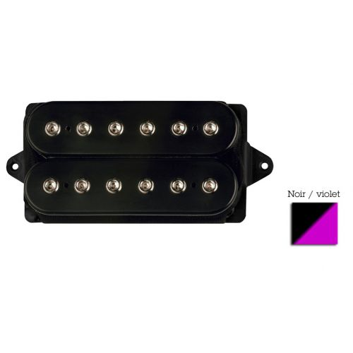 DIMARZIO DP100-BV SUPER DISTORTION HUMBUCKER BLACK/ PURPLE