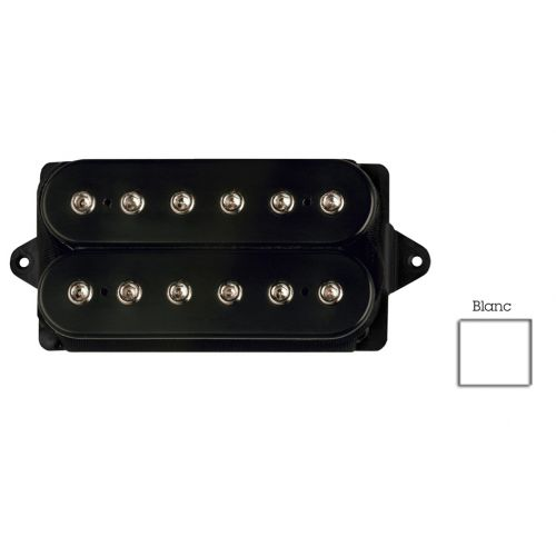 DIMARZIO DP100F-W SUPER DISTORTION F-SPACED HUMBUCKER WHITE