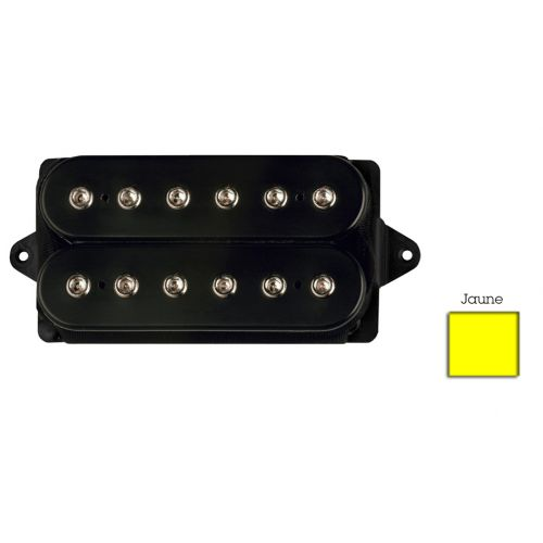 DIMARZIO DP100F-Y SUPER DISTORTION F-SPACED HUMBUCKER YELLOW