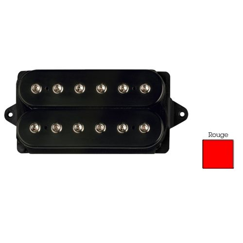 DIMARZIO DP104F-RD SUPER 2 - F-SPACED HUMBUCKER RED