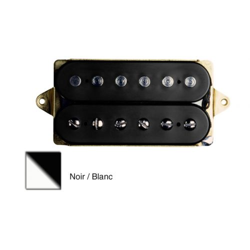 DIMARZIO DP155F-BW THE TONE ZONE - F-SPACED HUMBUCKER BLACK/WHITE