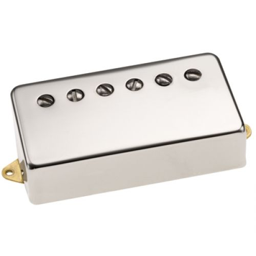 DIMARZIO DP155F-NI THE TONE ZONE - F-SPACED HUMBUCKER NICKEL COVER