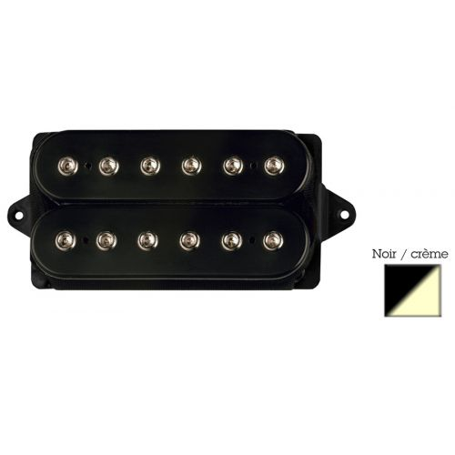 DIMARZIO DP156-BC HUMBUCKER FROM HELL BLACK/CREAM