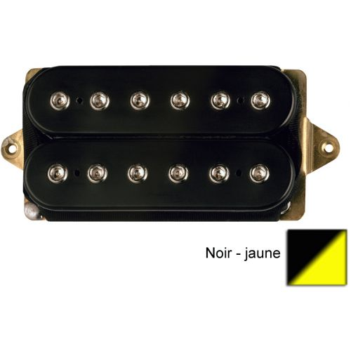 DIMARZIO DP161-BY STEVE'S SPECIAL HUMBUCKER BLACK/YELLOW