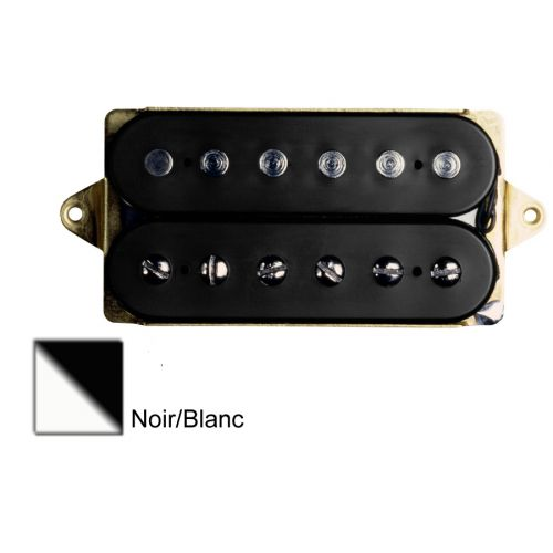 DIMARZIO DP193F-BW AIR NORTON - F-SPACED HUMBUCKER BLACK/WHITE